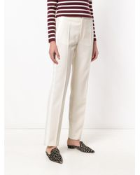 Joseph Natural High Waisted Tailored Trousers
