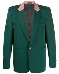 Blazer colour block Paul Smith pour homme en coloris Green