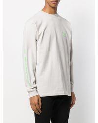 T-shirt a maniche lunghe di Vans in Multicolor da Uomo
