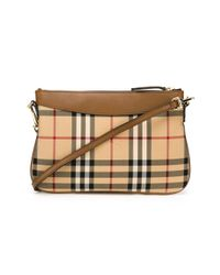 Burberry - Brown Horseferry Check Crossbody Bag - Lyst