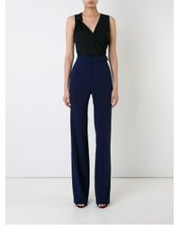 Mugler - Blue Tailored Trousers - Lyst