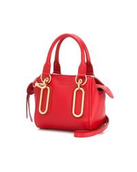 See By Chloé Red Mini 'Paige' Crossbody Bag