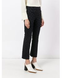 Dorothee Schumacher - Blue Cropped Trousers - Lyst