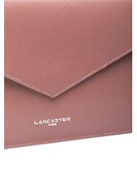 Lancaster Pink Air Clutch Bag