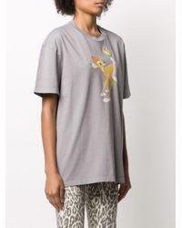Miu Miu Bambi Tシャツ Gray