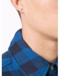 1-100 - Gray Bar Earring - Lyst