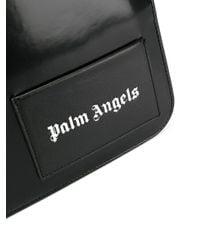Palm Angels ロゴ クラッチバッグ Black