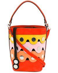 Pierre Hardy - Orange Scalloped Bucket Bag - Lyst
