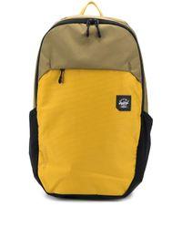 Herschel Supply Co. Zweifarbiger Rucksack mit Logo-Patch in Green für Herren