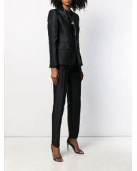 DSquared² Black Two-piece Trouser Suit
