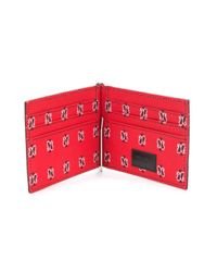 Money clip billfold wallet Saint Laurent pour homme en coloris Black