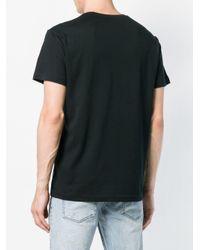 Versace Jeans Black Logo Print T-shirt for men