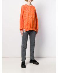 Collina Strada オーバーサイズ スウェットシャツ Orange