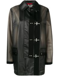 Chaqueta impermeable 4 Ganci Fay de color Black