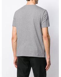 T-shirt à imprimé graphique Just Cavalli pour homme en coloris Gray