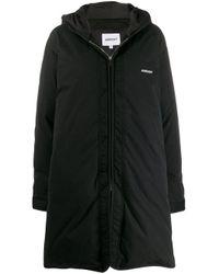 Padded hooded coat di Ambush in Black