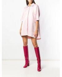Короткое Платье-рубашка Styland, цвет: Pink