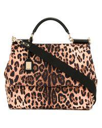 Dolce & Gabbana Multicolor Sicily Shoulder Bag