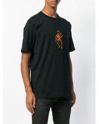 DIESEL - Black T-Shirt mit Print for Men - Lyst