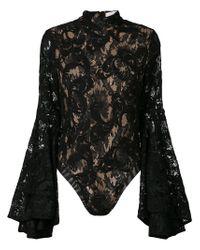 Misha Collection - Black Lolita Lace Body - Lyst