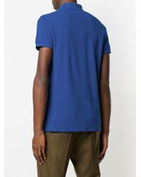 メンズ Etro クラシック ポロシャツ Blue