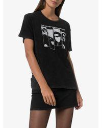 R13 The Velvet Underground Tシャツ Black