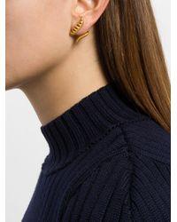 Kasun - Metallic Serpent Earrings - Lyst