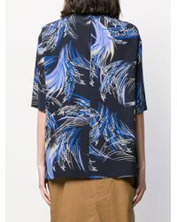 Givenchy プリント Tシャツ Blue