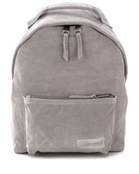 Eastpak Gray Pocket Backpack for men