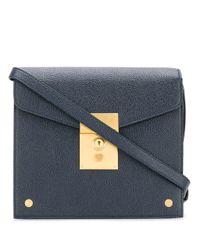 Mrs. Thom Mini crossbody bag Thom Browne en coloris Blue