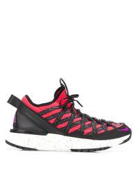 Nike Black Acg React Terra Gobe Sneakers for men