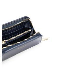 Lanvin - Blue Small Zip Wallet - Lyst