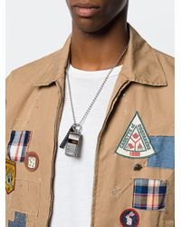 DSquared² - Metallic Acme Style Whistle for Men - Lyst