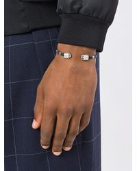 Gas Bijoux - Metallic Duality Scaramouche Bracelet for Men - Lyst