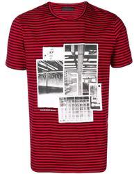 Camiseta Industrial Diesel Black Gold de hombre de color Red