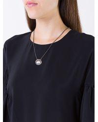 Amedeo - Metallic 'crown' Necklace - Lyst