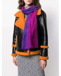 Moschino ロゴ スカーフ Purple
