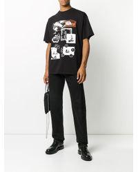 Aries ロゴ Tシャツ Black