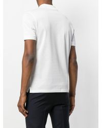 Polo clásico Lanvin de hombre de color White