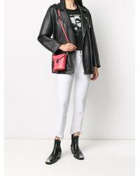 Borsa a secchiello mini di Calvin Klein in Multicolor
