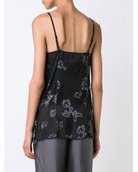 Vera Wang Black Camisole Top