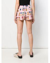 Mr & Mrs Italy パターン ショートパンツ Multicolor