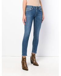 Dondup Blue Classic Skinny-fit Jeans