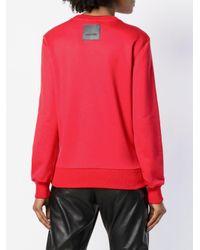 Tom Ford Red Crew Neck Sweatshirt