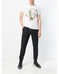 Versace Jeans White Printed T-shirt for men
