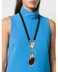 Marni Large Stone Necklace Multicolor