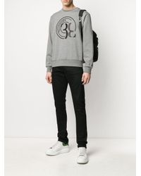 メンズ Billionaire ロゴ スウェットシャツ Gray