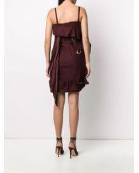 Dior 2000s プレオウンド コルセット ドレス Red
