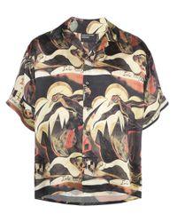 Enfants Riches Deprimes Multicolor Broken Violin Print Shirt for men