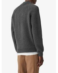 メンズ Burberry カシミア ボンバージャケット Gray